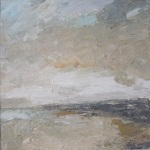 Shifting Sands - landscape painting by Donegal artist Seamus Gallagher.