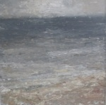 Winter Shore - landscape painting by Donegal artist Seamus Gallagher
