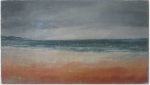 October Sand - landscape painting by Donegal artist Seamus Gallagher