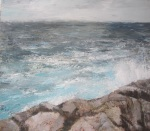 Winter Sea - a Donegal landscape by artist Seamus Gallagher